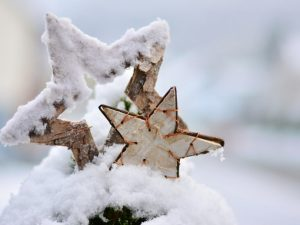 Schneeflöckchen, Weißröckchen, wann kommst du geschneit? - Eine Statistik zu weißen Weihnachten