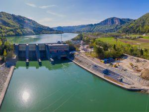 Europas höchste Fischtreppe wird in Betrieb genommen