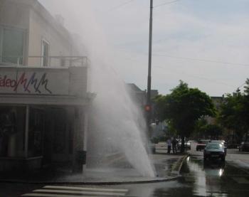 Wasserrohrbruch (c) ÖVGW